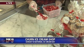 Cory's Corner: Churn Ice Cream Shop