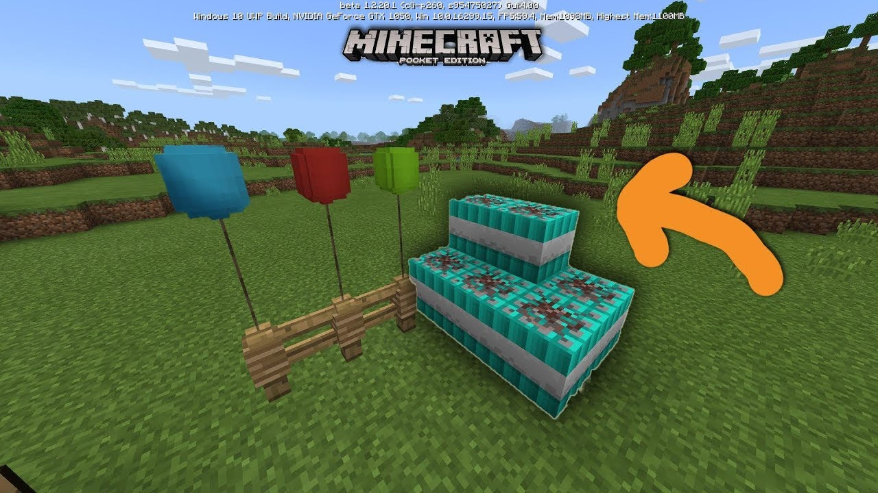 How to Make Balloons Underwater torches and TNT Minecraft Pocket