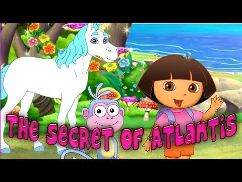 Dora The Explorer The Secret of Atlantis - Dora and Friends Full Cartoon Game