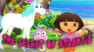 Dora The Explorer The Secret of Atlantis - Dora and Friends Full Cartoon Game