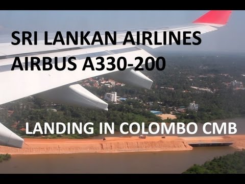 Sri Lankan Airlines Airbus Landing in Colombo HD Airbus A330