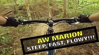 واحدة من أفضل الطرق في ولاية أوهايو! AW ماريون ركوب الدراجات الجبلية