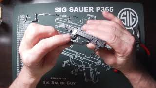 Armory Craft Sig Sauer P365 trigger installation video