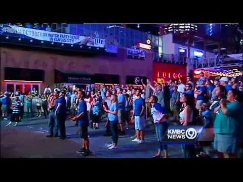 Watch: Power and Light District goes crazy after Royals win