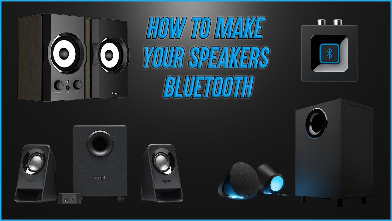 Logitech Bluetooth Audio Adapter - Make speakers wireless!!
