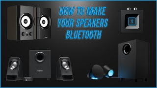 Logitech Bluetooth Audio Adapter - Make speakers wireless!!