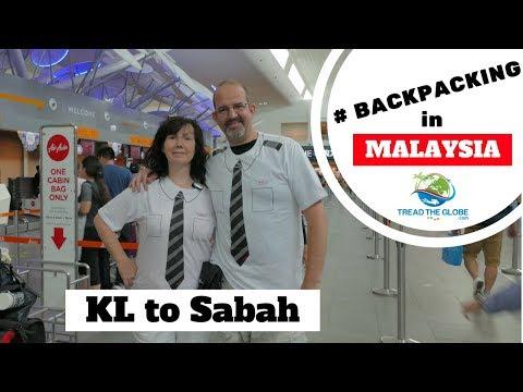 KL to Sandakan Sabah -Malaysia Borneo Trip