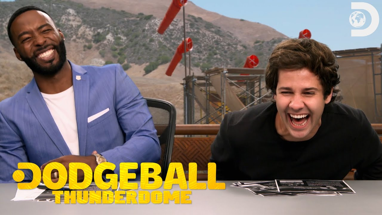 Funniest David Dobrik Moments in Dodgeball Thunderdome