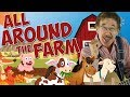 All Around the Farm   Directional Words & Spatial Concepts   Learning Song for Kids   Jack Hartmann