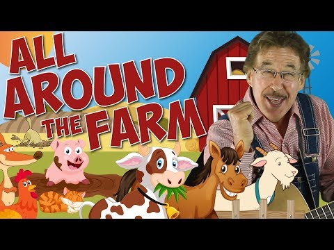 All Around the Farm | Directional Words & Spatial Concepts | Learning Song for Kids | Jack Hartmann