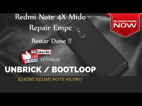 Redmi Note 4X Repair Emcp KMRX1  Restar Bandel Done