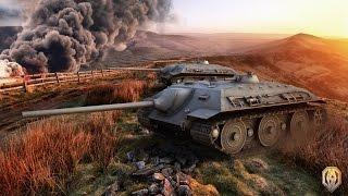 "Танк Е-25: немцы нагибают. ""Мастер, 9 фрагов"""