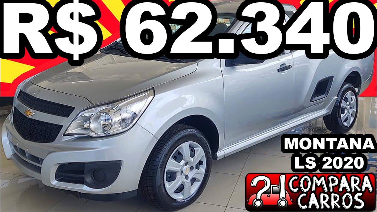 VISITANDO R$ 62.340 Chevrolet Montana LS 2020 MT5 Flex 1.4 8v 99 cv 13 kgfm