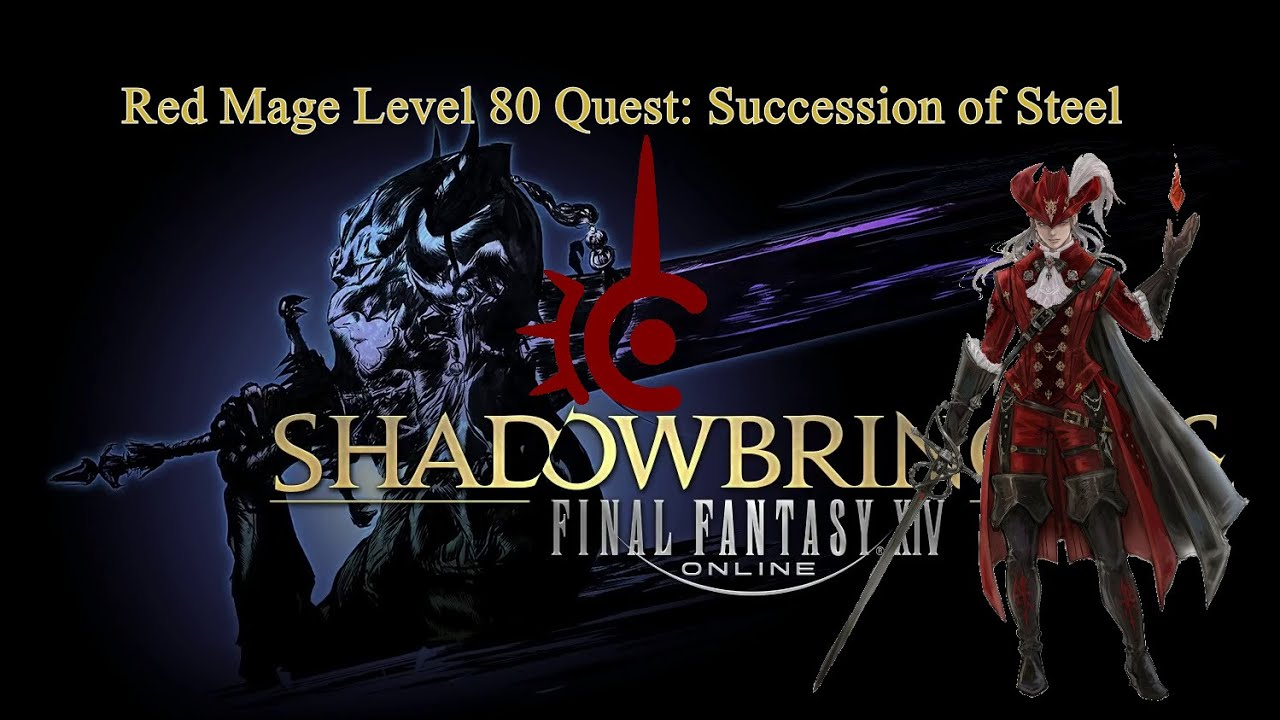 FFXIV: Succession of Steel - Level 80 Red Mage Quest