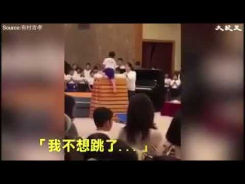 Japanese boy repeatedly failed jumping but has a Never Give Up Attitude