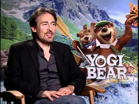 with director Eric Brevig for Yogi Bear