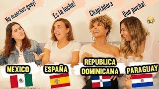 DIFERENCIAS DEL ESPAÑOL ENTRE PAISES - BATALLA DE IDIOMAS! Parte 1 -Doralys Britto