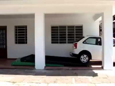Really innovative idea , parking under a car