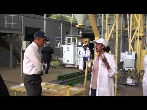 Obama Sows Seeds of Nutrition in Ethiopia