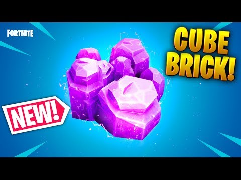 *NEW* CUBE BRICK MATERIAL!!? - Fortnite Funny and Best Moments Ep.548 (Fortnite Battle Royale)