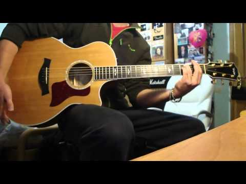 "James Morrison - Coolio Featuring ""Gangsta's Paradise"" Guitar Acoustic cover + solo improvisation"