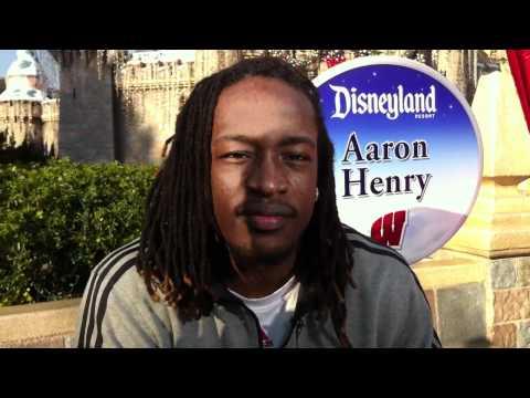 Badgers at Disney: Aaron Henry