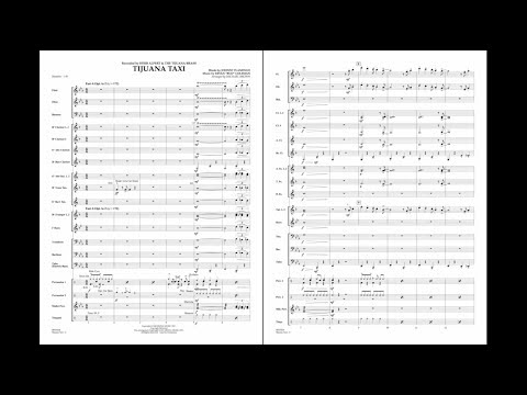 Tijuana Taxi arranged by Michael Brown