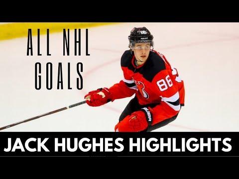 Jack Hughes Highlights 2020 ALL Goals