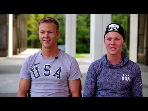Ski Siblings Sadie and Erik Bjornsen prep for the 2018 Winter Olympics