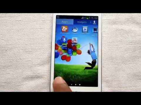 How to Apply Galaxy S4 Wallpaper on Galaxy Star Pro Phone