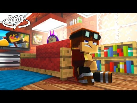 Tattletail - HIDE and SEEK! #2 -  360° Minecraft Video