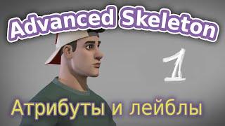 AdvancedSkeleton от А до Я. Основы ч.1