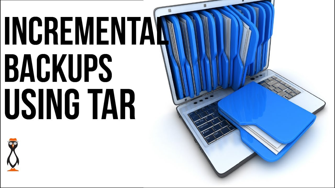 Creating Incremental Backups with Tar from the Linux Command