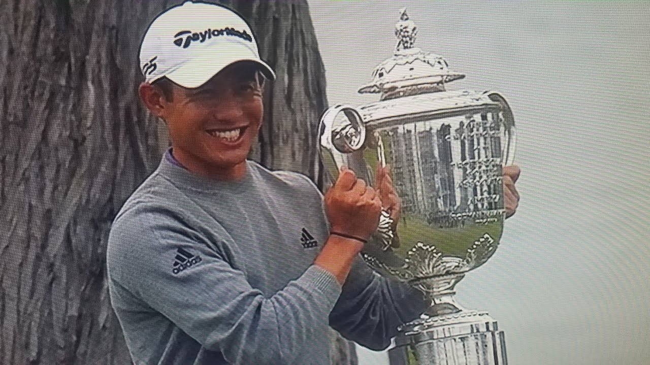 Collin Morikawa wins the PGA Championship for first major...