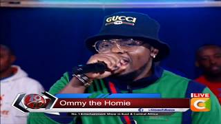 Yanje live, Ommy Dimpoz performs new song ft. Seyi Shay #10Over10