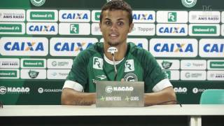 Apresentação do atacante Michael ex-Goianésia no Goiás Esporte Clube