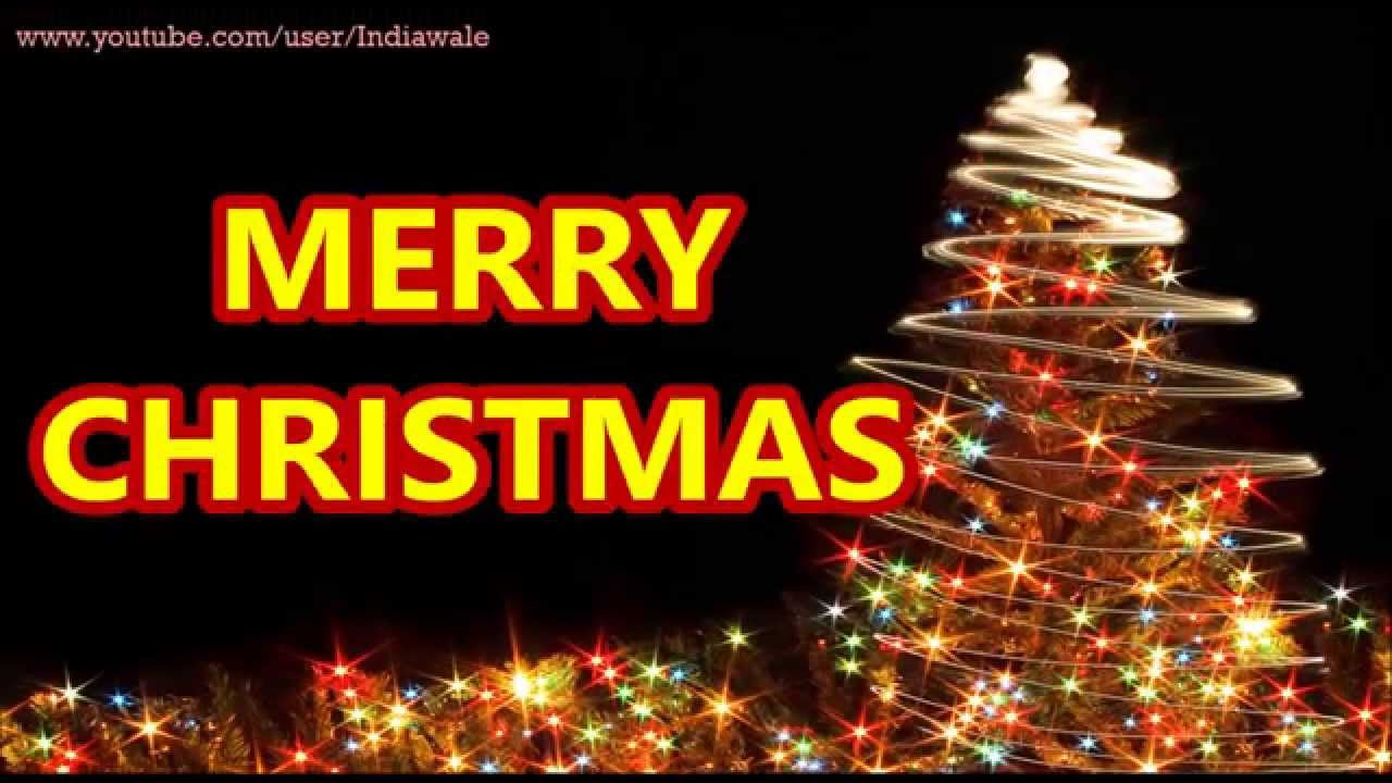 merry christmas 2015 happy christmas wishes greetingse card whatsapp video message youtube - Christmas Wishes Video