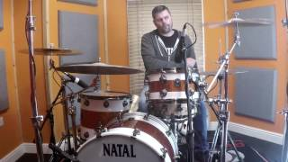 natal limited edition 14 x5 5 mappa burl snare demo