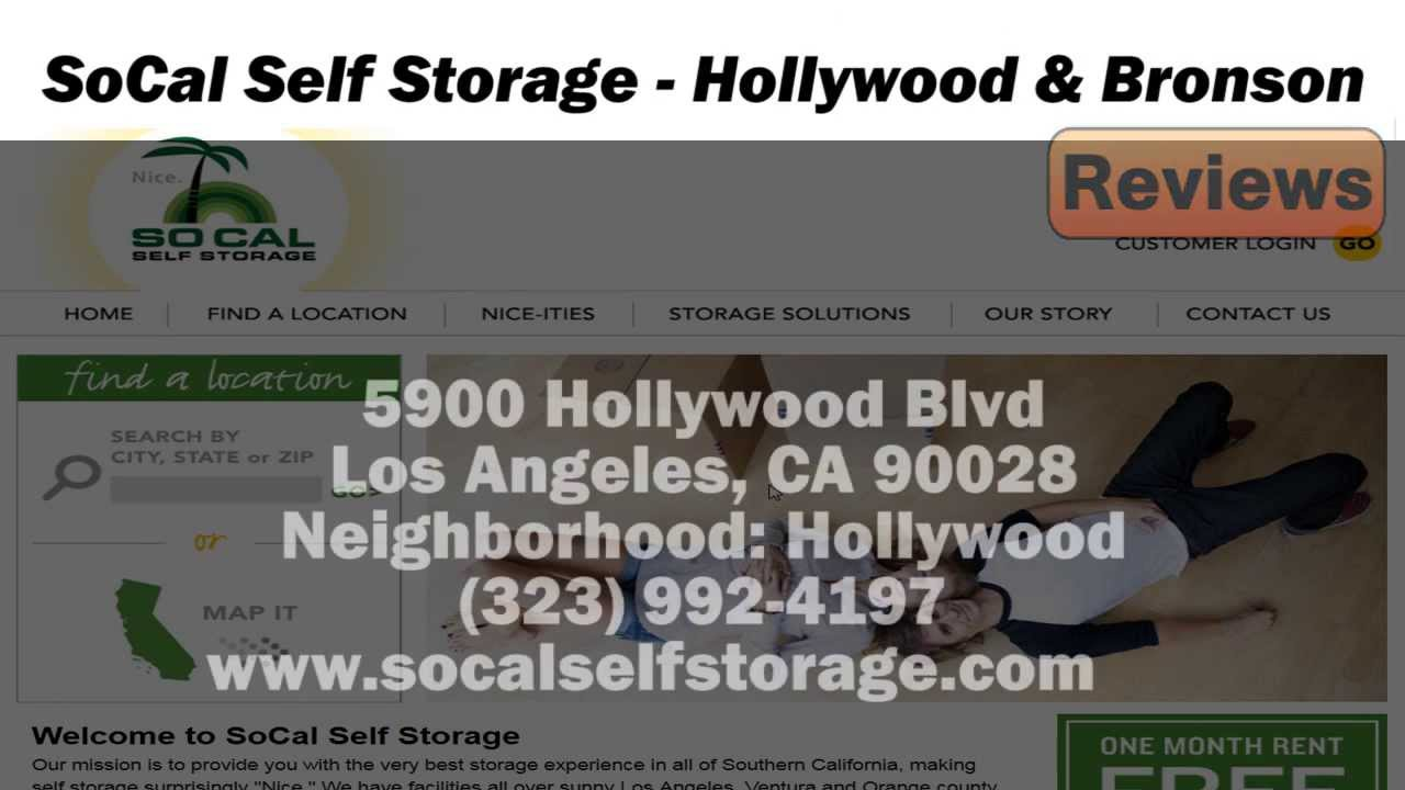 SoCal Self Storage   REVIEWS   Los Angeles, CA Self Storage Services Reviews