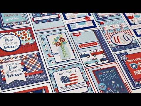 Bella Blvd Fireworks & Freedom - 48 Cards 1 Collection