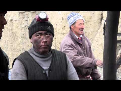Illegal Coal Miners In Kyrgyzstan