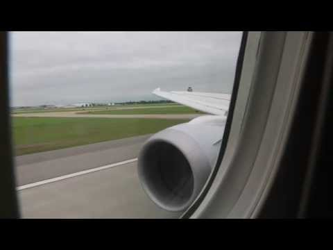 (HD) American Airlines 787-8 First Class ORD - DFW (with diversion)