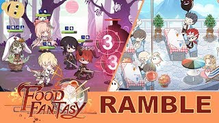 Food Fantasy Android Gameplay Ramble (RPG)