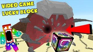 Lucky Block VideoGames Vs Boss Siêu To Khổng Lồ ?? T Gaming Thử Thách