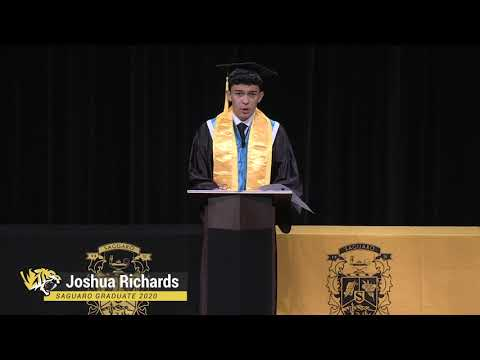 2020 Graduation Speech - Saguaro High School