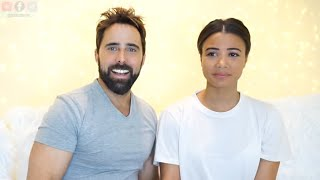 RETO MI ESPOSO ME MAQUILLA - MY HUSBAND DOES MY MAKEUP | Doralys Britto