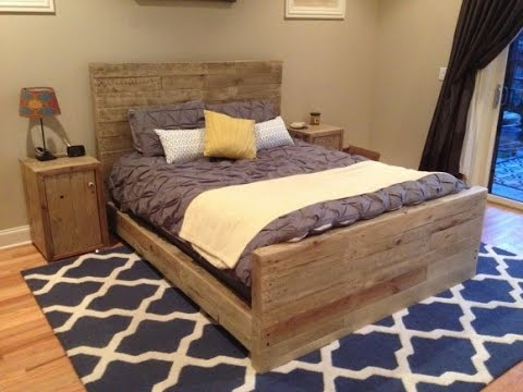 exquisite reclaimed wood bed frame design ideas - Reclaimed Wood Bed Frame