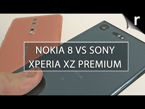 Nokia 8 vs Sony Xperia XZ Premium: No competition?