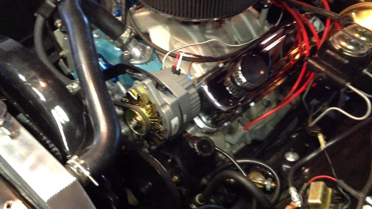 1967 camaro wiring diagram honeywell aquastat l6006c 1964 gto - alternator upgrade. youtube