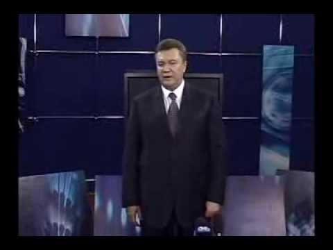Interview with Ukranian president Viktor Yanukovich